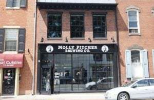 Molly Pitcher Brewing Company front door