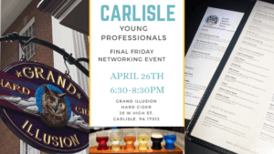 Networking Event at CYP April 26th