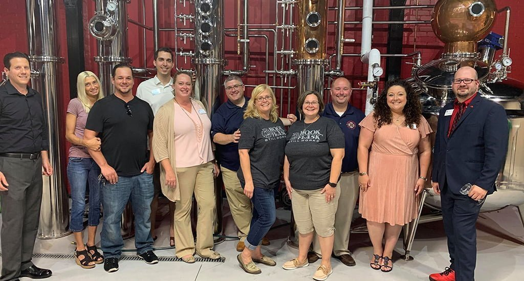 Carlisle Young Professionals at Hook and Flask Distillery