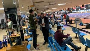 The complete Bowling arena in a pic