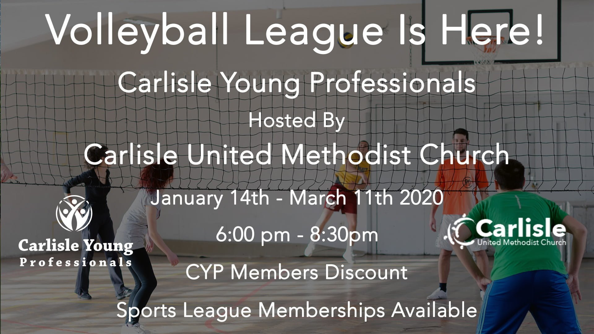 Volleyball Sports League (01/14/20)