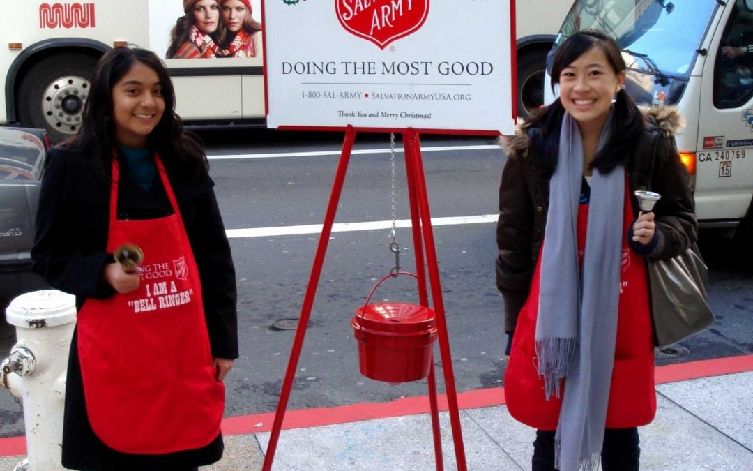 Bell Ringing – Salvation Army