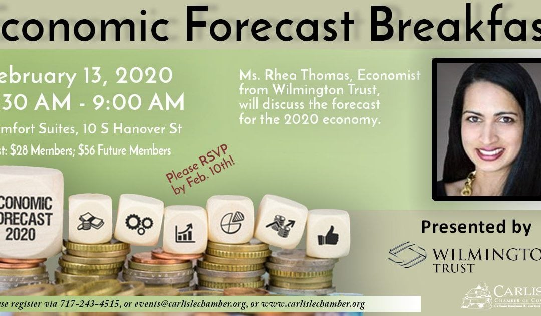 Economic Forecast Breakfast with the Chamber of Commerce (02/12/20)