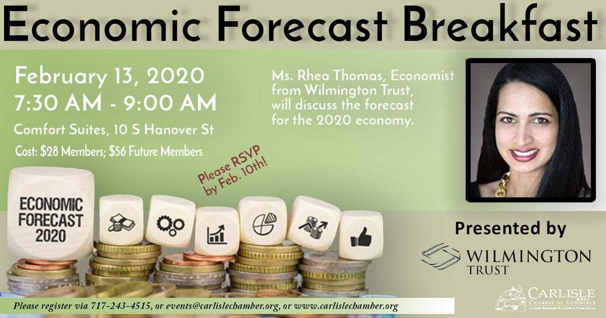 Economic Forecast Breakfast Flyer