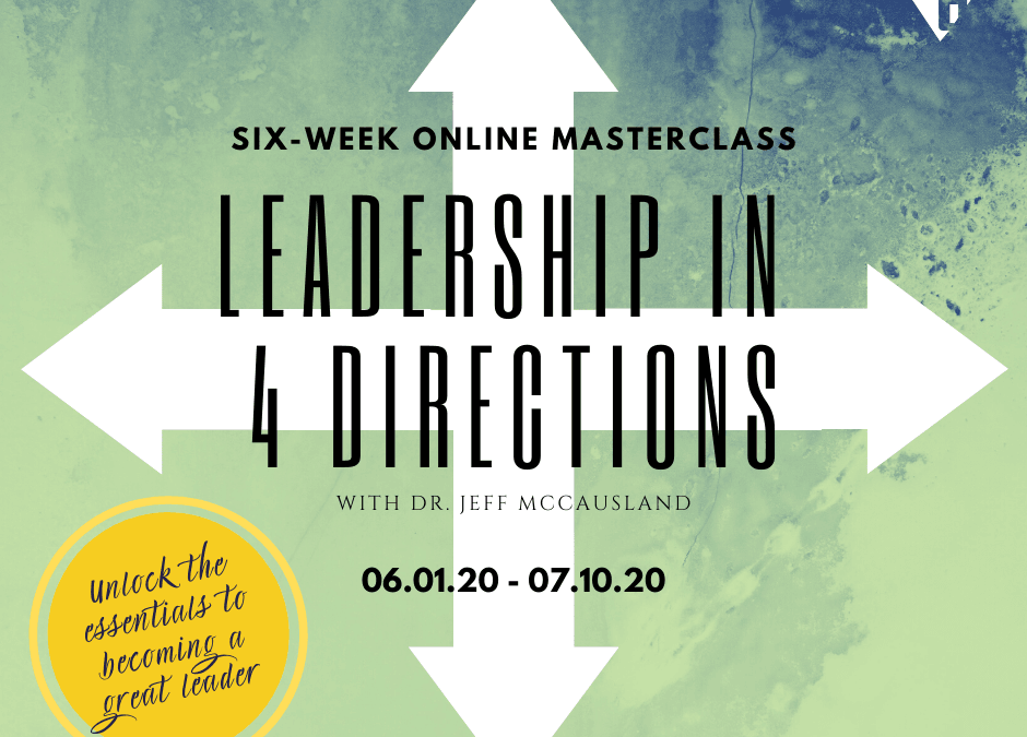 Diamond6: Leadership in 4 Directions Online Masterclass (06/01/20)
